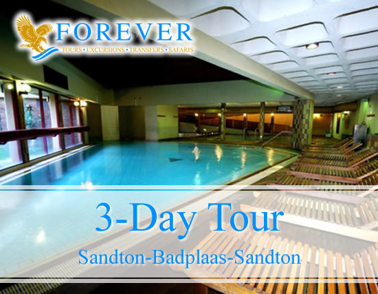 3 Day Tour: From Sandton to Badplaas